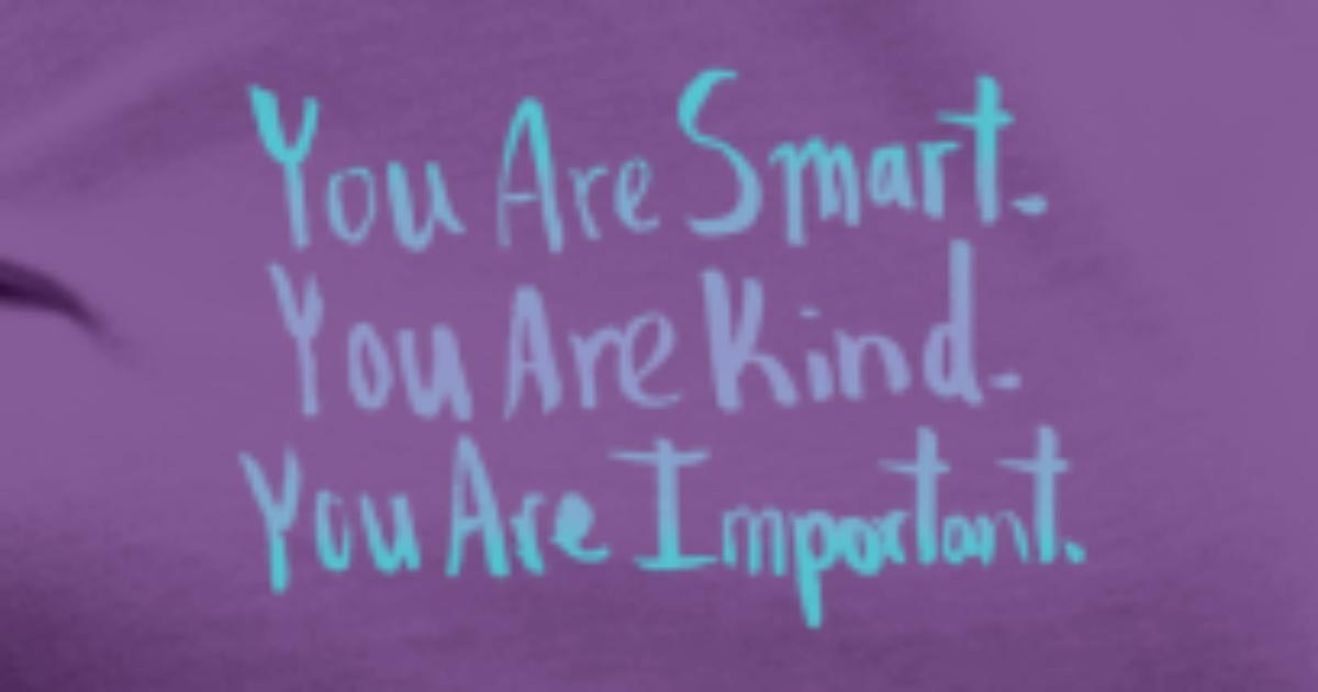 You Are Smart You Are Kind You Are Important Womens Premium T