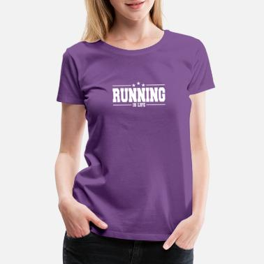 Bootcamp running is life 1 - Women's Premium T-Shirt
