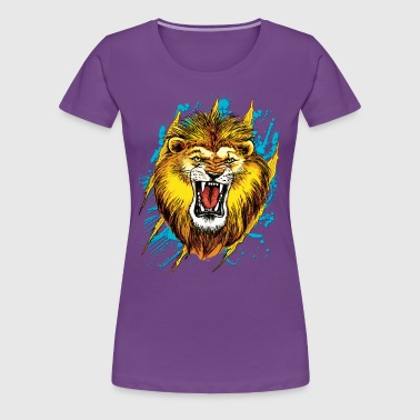 Lion Roars - Women's Premium T-Shirt