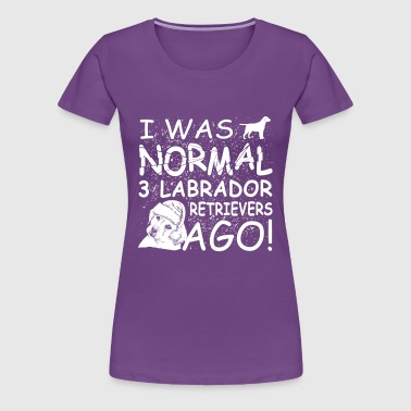 Labrador Retrievers - Women's Premium T-Shirt
