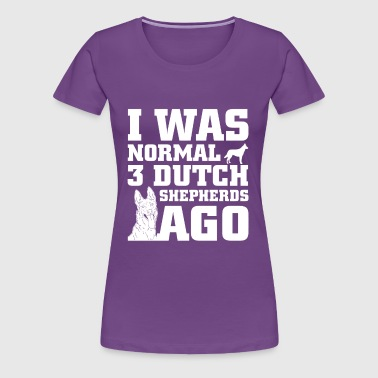 Dutch Shepherds - Women's Premium T-Shirt
