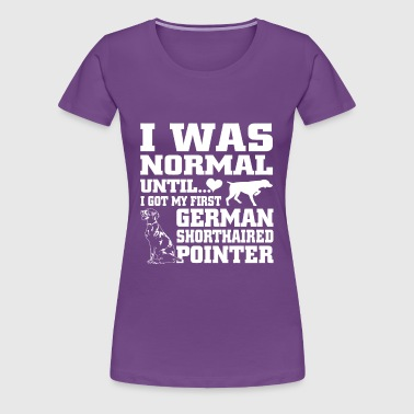 German Shorthaired Pointer - Women's Premium T-Shirt