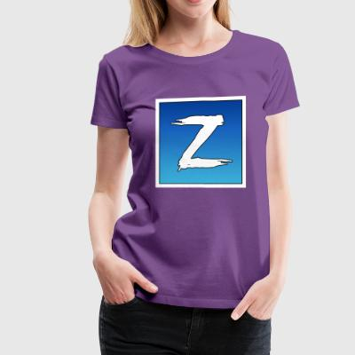 The Letter Z - Women's Premium T-Shirt