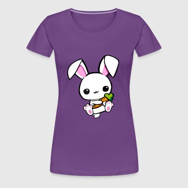 Cute Rabbit Baby Design - Women's Premium T-Shirt