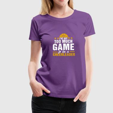 Funny Basketball player girls T-Shirt - Women's Premium T-Shirt