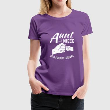 Aunt And Niece Matching Outfits Women and Kids - Women's Premium T-Shirt