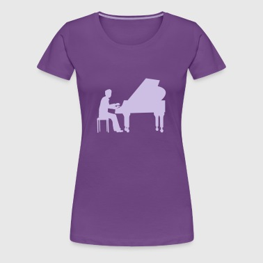 piano player - Women's Premium T-Shirt