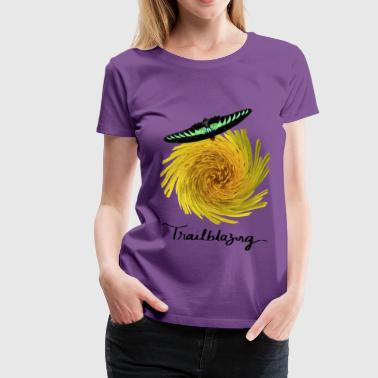 Trailblazing Butterfly - Women's Premium T-Shirt