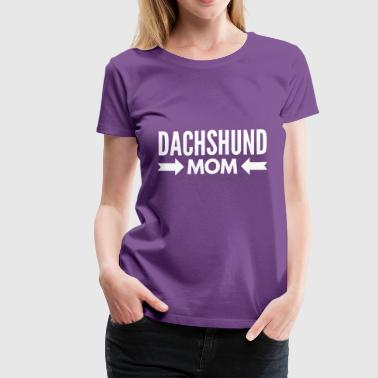 Dachshund Mom - Women's Premium T-Shirt