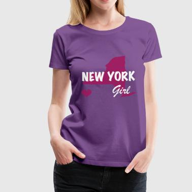 New York Girls - Women's Premium T-Shirt