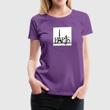 Pretty in Paris - Women's Premium T-Shirt