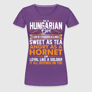 Hungarian Girl Sweet As Tea - Women's Premium T-Shirt