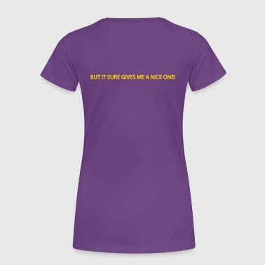 running pain in the ass - Women's Premium T-Shirt