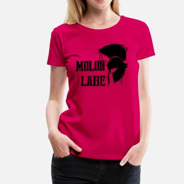 Spartan Gun Rights Molon Labe Spartan  - Women's Premium T-Shirt