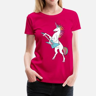 Punk Rock Unicorn  punk rock unicorn - Women's Premium T-Shirt