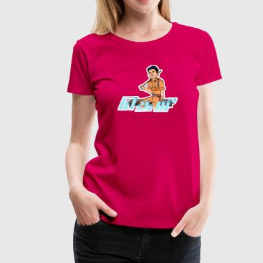 Theri- Vijay - Women's Premium T-Shirt