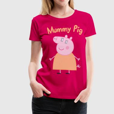 mummy pig - Women's Premium T-Shirt