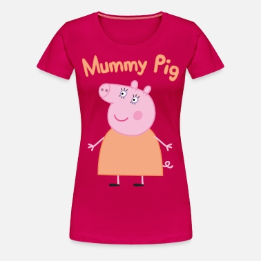 2b392f8f1df10 mummy pig Women's Premium T-Shirt   Spreadshirt