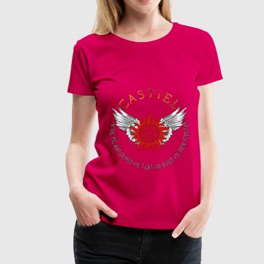 Castiel Protection Symbol 04 - Women's Premium T-Shirt