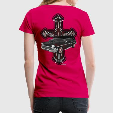Hearse and Cross - Women's Premium T-Shirt