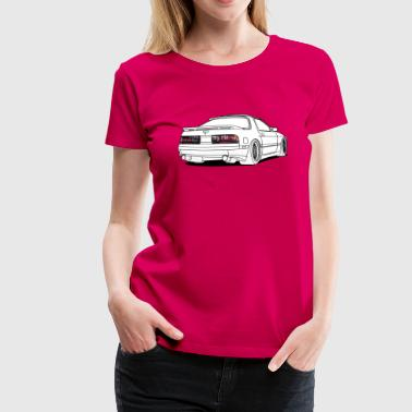 old rx7 white - Women's Premium T-Shirt