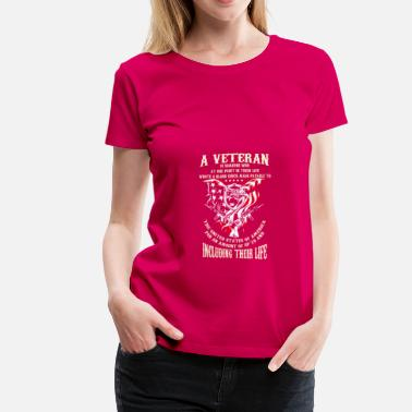 Veteran Clothes Veteran - Women's Premium T-Shirt