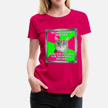 Porn Kitty Porn - Persephone Productions - Women's Premium T-Shirt