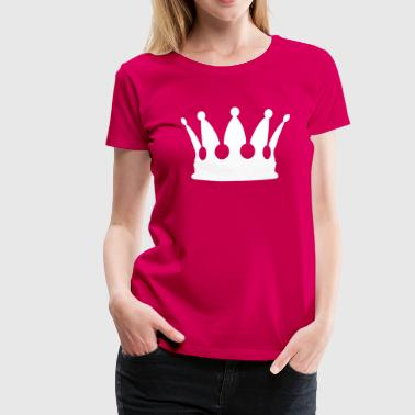 Gold King Crown crown - Women's Premium T-Shirt