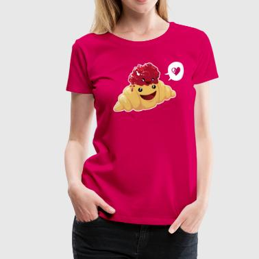 breakfast love - Women's Premium T-Shirt