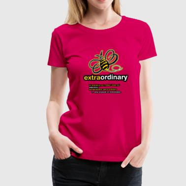 Bee Design Sports Bee Extraordinary - Women's Premium T-Shirt