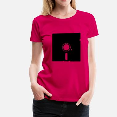 Retrogaming Floppy disk - Women's Premium T-Shirt