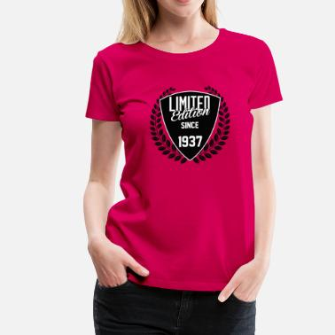 Since 1937 limited edition since 1937 - Women's Premium T-Shirt