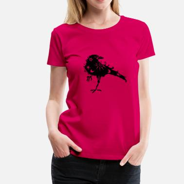 Crow Cosmic Crow - Women's Premium T-Shirt