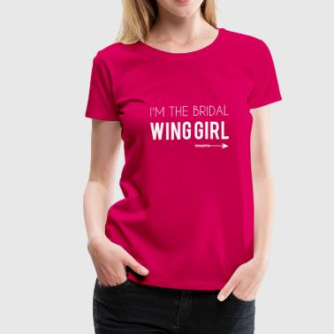 Bridal Wing Girl - Women's Premium T-Shirt