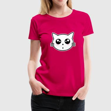 Kawaii Cat cat - Women's Premium T-Shirt