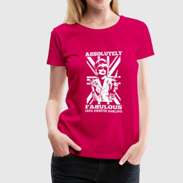 Patsy - Absolutely fabulous Sweetie Darling - Women's Premium T-Shirt