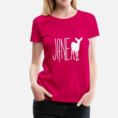 Strange Jane Doe - Max (Life is Strange) Wht Ver. - Women's Premium T-Shirt