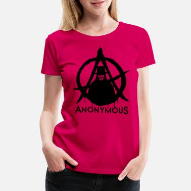 Anonymus Anonymous Vendetta 1c - Women's Premium T-Shirt