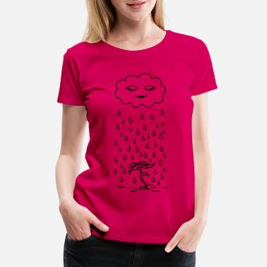 4c2983b51c676 Funny Pregnancy Cute sprout maternity tee - Women's Premium T-Shirt