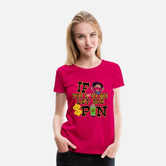 Price T-Shirts - TV Game Show Contestant - TPIR (The Price Is...) - Women's Premium T-Shirt dark pink