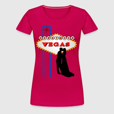 Vegas Honeymoon - Women's Premium T-Shirt