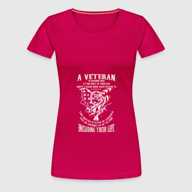 Veteran - Women's Premium T-Shirt