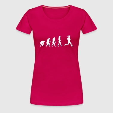 running evolution women - Women's Premium T-Shirt