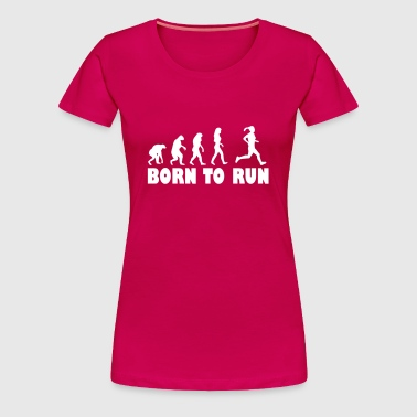 born to run women - Women's Premium T-Shirt