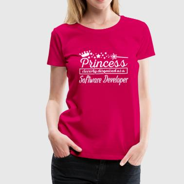Software Developer - Women's Premium T-Shirt
