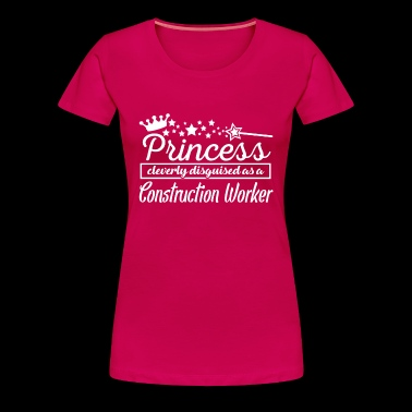 Construction Worker - Women's Premium T-Shirt