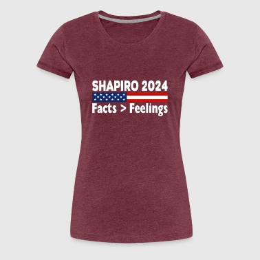 Bengalo Ben Shapiro 2024 Facts Feelings T shirt - Women's Premium T-Shirt