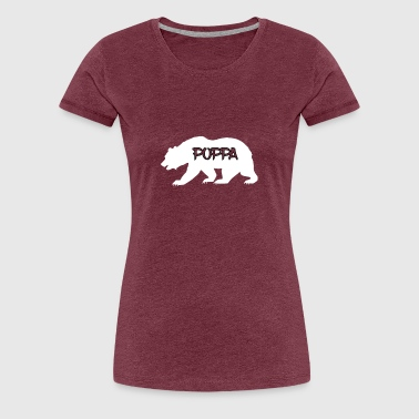 Dating My Daughter Art Asian Poppa Bear Art - Women's Premium T-Shirt