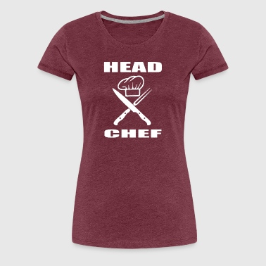 Head Chef Funny HEAD CHEF - Women's Premium T-Shirt
