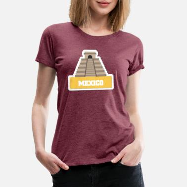 Ruin MEXICO BUILDING F - Women's Premium T-Shirt